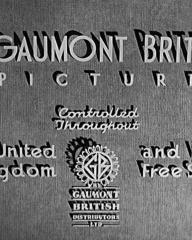 Main title from First a Girl (1935) (4)  A Gaumont British picture  Controlled throughout the United Kingdom and Irish Free State by Gaumont British Distributors Ltd
