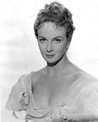 Actress Joan Greenwood as the lovely Wilhelmina in the Harefield production 'Flesh And Blood', directed by Anthony Kimmins for British Lion