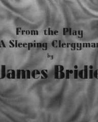 Screenshot from Flesh and Blood (1951) (4).  From the play 'A Sleeping Clergyman' by James Bridie