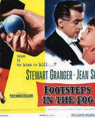 Lobby card from Footsteps in the Fog (1955) (1)