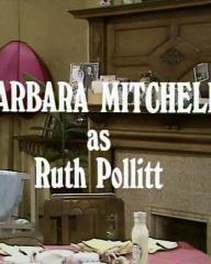 Main title from the 1970 'Sunday Tea' episode of For the Love of Ada (5).  Barbara Mitchell as Ruth Pollitt