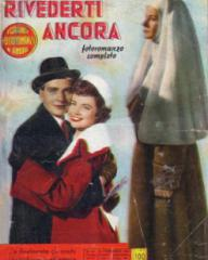 Foto Romanzo Cine Romanzo magazine with Paul Dupuis and  Margaret Lockwood in Madness of the Heart.  1954, issue number 19.  (Italian)