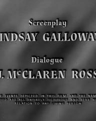Main title from Four Days (1951) (4)