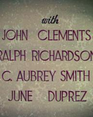 Main title from The Four Feathers (1939) (7)  With John Clements Ralph Richardson, C Aubrey Smith, June Duprez