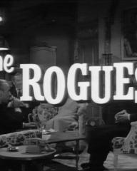 Opening credits from the 1964 'Fringe Benefits' episode of The Rogues (1964-1965) (1)
