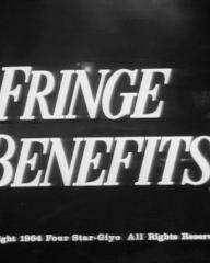 Opening credits from the 1964 'Fringe Benefits' episode of The Rogues (1964-1965) (5)