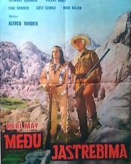 Yugoslav poster for Frontier Hellcat (1964) (1)
