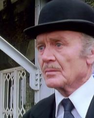 Screenshot from the 1980 'Galloping Foxley' episode of Tales of the Unexpected (1979-1988) (1) featuring John Mills