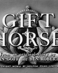 Main title from Gift Horse (1952)