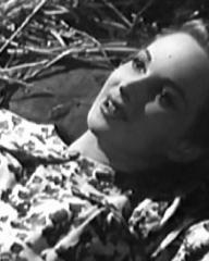 Joan Greenwood (as Gay Hardwicke) in a screenshot from A Girl in a Million (1945) (2)