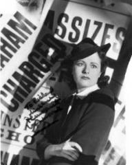Margaret Lockwood (as Nurse Anne Graham) in a photograph from The Girl in the News (1940) (1)