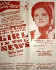 Poster for The Girl in the News (1940) (2)
