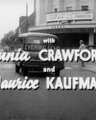 Main title from The Girl in the Picture (1957) (5).  With Junia Crawford and Maurice Kaufman