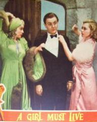 Lobby card from A Girl Must Live (1939) (4)