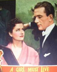 Lobby card from A Girl Must Live (1939) (5)