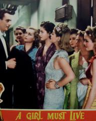 Lobby card from A Girl Must Live (1939) (6)