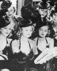 Lilli Palmer (as Clytie Devine), Renée Houston (as Gloria Lind) and Margaret Lockwood (as Leslie James) in a photograph from A Girl Must Live (1939) (3)