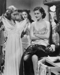 Lilli Palmer (as Clytie Devine) and Margaret Lockwood (as Leslie James) in a photograph from A Girl Must Live (1939) (6)