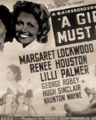 Poster for A Girl Must Live (1939) (2)