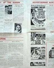 Newspaper cutting from A Girl Must Live