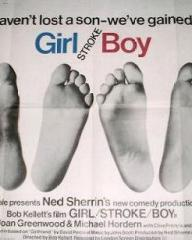 Poster for Girl Stroke Boy (1973) (1)