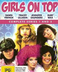 Australian DVD cover of Girls on Top (1985-86) (1)