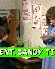 Screenshot from the 'Ident. Candy Time' (1985) episode of Girls on Top (1985-86) (5)