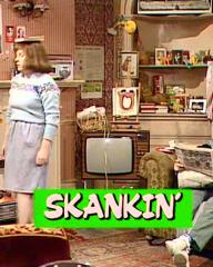 Screenshot from the 'Skankin'' (1985) episode of Girls on Top (1985-86) (6)