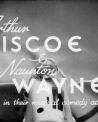 Main title from Going Gay (1933) (2).  Arthur Riscoe and Naunton Wayne in their musical comedy adventure