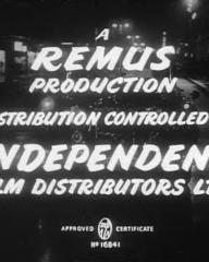 Main title from The Good Die Young (1954) (12).  A Remus Production.  Distribution controlled by Independent Film Distributors Ltd
