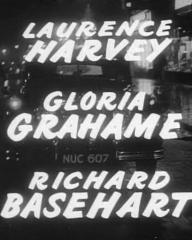 Main title from The Good Die Young (1954) (2).  Laurence Harvey Gloria Grahame, Richard Basehart