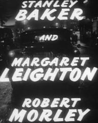Main title from The Good Die Young (1954) (4).  Stanley Baker and Margaret Leighton Robert Morley
