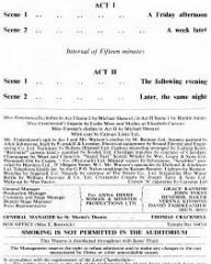Programme from The Grass is Greener (1959) at the St Martin's Theatre, London (4)