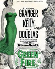 Poster for Green Fire (1954) (1)