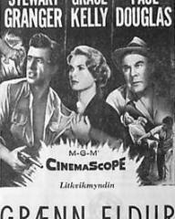 Poster for Green Fire (1954) (2)