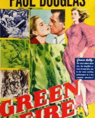 Poster for Green Fire (1954) (4)