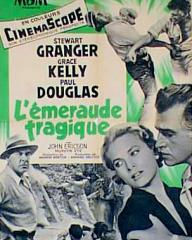 Poster for Green Fire (1954) (6)