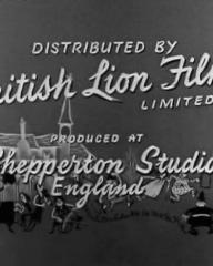 Main title from The Green Man (1956) (10).  Distributed by British Lion Films Limited produced at Shepperton Studios, England