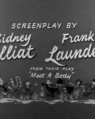 Main title from The Green Man (1956) (8).  Screenplay by Sidney Gilliat Frank Lauder from their play 'Meet a Body'