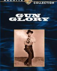 Stewart Granger (as Tom Early) in a DVD cover of Gun Glory (1957) (1)