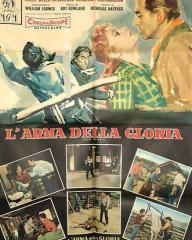 Italian poster for Gun Glory (1957) (1)