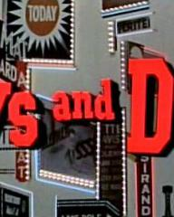 Main title from Guys and Dolls (1955)