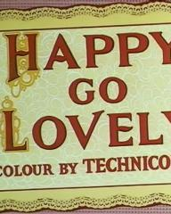 Main title from Happy Go Lovely (1951) (3). Colour by Technicolor
