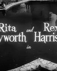 Main title from The Happy Thieves (1961) (2). Rita Hayworth and Rex Harrison