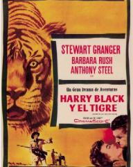 Spanish poster for Harry Black (1958) (1)