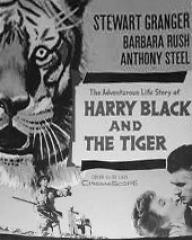 American poster for Harry Black and the Tiger [Harry Black] (1958) (1)
