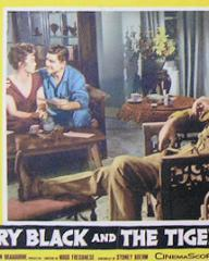 Lobby card from Harry Black and the Tiger [Harry Black] (1958) (1)