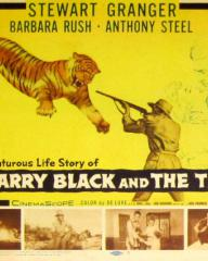 Lobby card from Harry Black and the Tiger [Harry Black] (1958) (2)