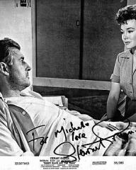 Stewart Granger (as Harry Black) and Barbara Rush (as Christian Tanner) in a photograph from Harry Black and the Tiger [Harry Black] (1958) (8)