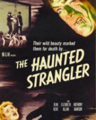 American poster for The Haunted Strangler [Grip of the Strangler] (1958) (1)